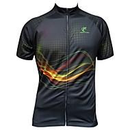 JESOCYCLING Pyörä/Pyöräily Jersey / Topit Naisten koot / Miesten Lyhyt hihaHengittävä / Ultraviolettisäteilyn kestävä / Nopea kuivuminen