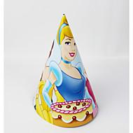 princesse 12pcs papier chapeau