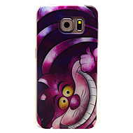 For Samsung Galaxy Case Pattern Case Back Cover Case Cat TPU Samsung S6