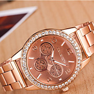 Couple's Round Dial Case Alloy Watch Brand Fashion Quartz Watch(More Color Available) Cool Watches Unique Watches