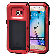 LOVE MEI®Aluminum Waterproof Shockproof Case for Samsung Galaxy S6 edge (Assorted Color)