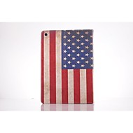 USA National Flag PU Leather Full Body TPU Case with Card Holder for Ipad Air