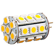 1 pcs Ding Yao G4 6W 27X SMD 5050 300-400LM 2800-3500/6000-6500K Warm White/Cool White Bi-pin Lights AC 12V