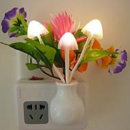 den nye kreative fancy fargerike lotus ledet sensor lys sparepære kontroll nattlys