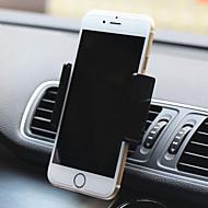 montagem de ventilação de ar do carro berço suporte ajustável montar titular do telefone titular
