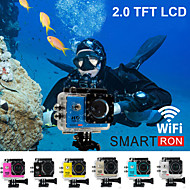 "Smartron Wi-Fi 2.0"" TFT 170-degree FHD 1080P Waterproof Action Sport Digital Video Camera"