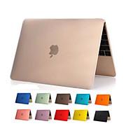 de înaltă calitate transparent pvc corp plin capac transparent caz greu pentru Apple noul MacBook 12 inch (culori asortate)