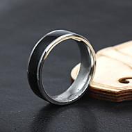Muškarci Klasično prstenje kostim nakit Titanium Steel Jewelry Za Party Dnevno