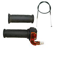bicicleta motorizada cabo do acelerador apertos de guidão de bicicleta bolso mini motor definir 33 49cc