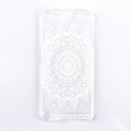 Weiß Mandala Blume muster pc harte rückseitige Abdeckung Fall für iPod-Note 5