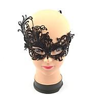 la moitié du visage le masque de dentelle de style papillon des femmes élégantes