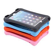 ympäristönsuojelun silikoni pehmeä puhdas väri loudspeaking iskunkestävä koko kehon kansi kotelo Apple iPad mini1 / 2/3 7.9 tuumaa
