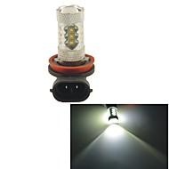 carking ™ h8 / h11 80w 16SMD 2800ml 6000k weißes Licht führte Nebellicht Scheinwerferantriebskolben (DC 12V)
