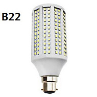 E14 / GU10 / B22 / E26/E27 14 W 282 SMD 3528 650 LM Warm White / Cool White / Natural White T Corn Bulbs AC 85-265 V