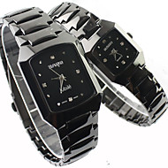 Couple's Watch Fashion Dress Watch Alloy Band Cool Watches Unique Watches