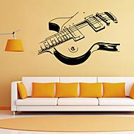 벽 스티커 벽 데칼 스타일의 개성 기타 PVC 벽 스티커