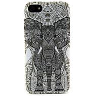 iPhone 5 / 5S用ブラックマンモスパターンソフトTPUバックIMDケースカバーfun®ファッションデザインココ