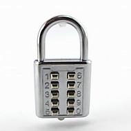 alliage de zinc de manière convenable bagages / sac verrouiller avec 10 passe