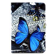 wzór motyla pu skóra pełna przypadku ciała z podstawą dla iPad mini 1/2/3