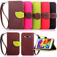 Wallet Holder PU Leather Flip Case Cover for Samsung Galaxy Core Prime/Young 2/Core 2/Ace Style LTE(Assorted Colors)