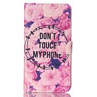 Na Samsung Galaxy Note Portfel / Etui na karty / Z podpórką / Flip Kılıf Futerał Kılıf Napis Skóra PU Samsung Note 4 / Note 3