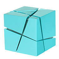 Creative Rubik's Cube Style Wireless Bluetooth Speaker with Multi-color LED Light / Hands-free / FM - Blue