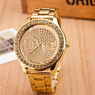 Women's Watches Europe And The Trend Of Major Suit Alloy Watch Plateful Diamond Quartz Watch