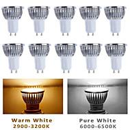 10 stk. MORSEN GU10/GU5.3/E26/E27 5 W 5 Højeffekts-LED 350-400 LM Varm hvid/Kold hvid PAR Spotlys AC 85-265 V
