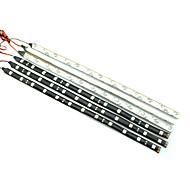 0.3m 12LED / beyaz kırmızı / mavi / sarı esnek led ışık şeritleri DC12 v
