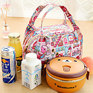 Insulated Thermal Cooler Bag Lunch Tote Storage Bag Travel Picnic (Random Color)
