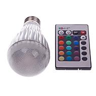 morsen® E27 3w med fjernbetjening flere farve RGB LED pære (85-265v)