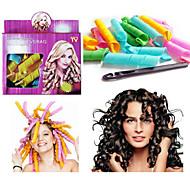 18pcs leverag cheveux maglc bigoudis Curlformers