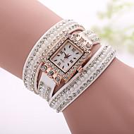 Xu™ 아가씨들 패션 시계 팔찌 시계 캐쥬얼 시계 석영 섬유 밴드 보헤미안 진주 블랙 화이트 블루 실버 브라운 핑크 퍼플 베이지