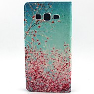 Ανθισμένες Κερασιές μοτίβο πλήρη κάλυψη του σώματος με υποδοχή κάρτας για Samsung τάση 3 g3500 / g355h / g357 / g360 / g386f / g850f /