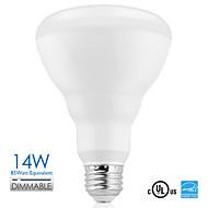 vanlite E26 14W førte BR30 projektør dæmpbar LED lampe 1100lm høje lumen ac120v