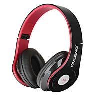 OVLENG x8 моды складные наушники ж / микрофон для смартфонов / Ipod / компьютера - черный + красный