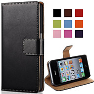 VORMOR® Elegant PU Leather Case for iPhone 4/4S (Assorted Colors)