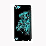 ipod touch 5 için aslan tasarım alüminyum yüksek kaliteli durumda