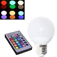 1 개 딩 야오 E27 10w 3 속 450-500lm는 글로브 전구 교류 85-265V를 RGB