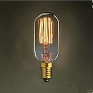 t45 gerade Draht e14 220 v kleine Schraube retro Licht 40 w