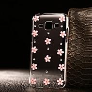 DIY lyserøde blomster mønster pc hårdt tilfældet for flere Samsung Galaxy a3 a5 a7 a8 2016 2017
