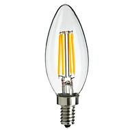 HRY® E14 4W 400LM Light LED Filament Lamp (85-265V)