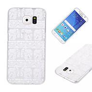 Για Samsung Galaxy Θήκη Διαφανής tok Πίσω Κάλυμμα tok Ελέφαντας PC Samsung S6 edge / S6 / S5 Mini / S5