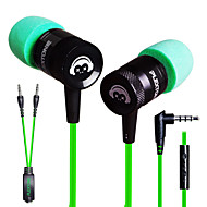 plextone® g10 in-ear e-sportsspil metal tung bas øretelefon med mikrofon til iphone6 ​​/ iphone6 ​​plus mobiltelefon / pad / mp3 / pc