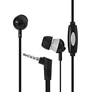 Langsdom Q3 Fashion Style Stereo Sound Flat WireIn-ear Earphone with Wired Control Headphone