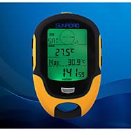 multifonction LCD prévisions altimètre numérique boussole baromètre thermomètre hygromètre météo Sunroad de conduit
