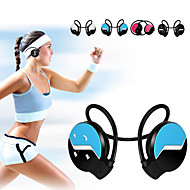 Sports Neckband Elastic Folded Stereo Wireless Bluetooth 4.0 Headset Earphone Sports Headphones for Samsung iphone