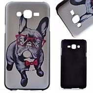 Voor Samsung Galaxy hoesje Patroon hoesje Achterkantje hoesje Hond PC Samsung J7 / J5