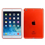 Transparent Colorful Back Protective Cover for iPad Air(Assorted Colors)