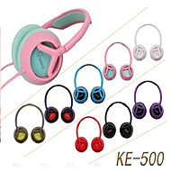 KEEKA KE-500 Stylish Stereo Headphone Noise-Cancelling With Microphone for Cellphone(Assorted Colors)